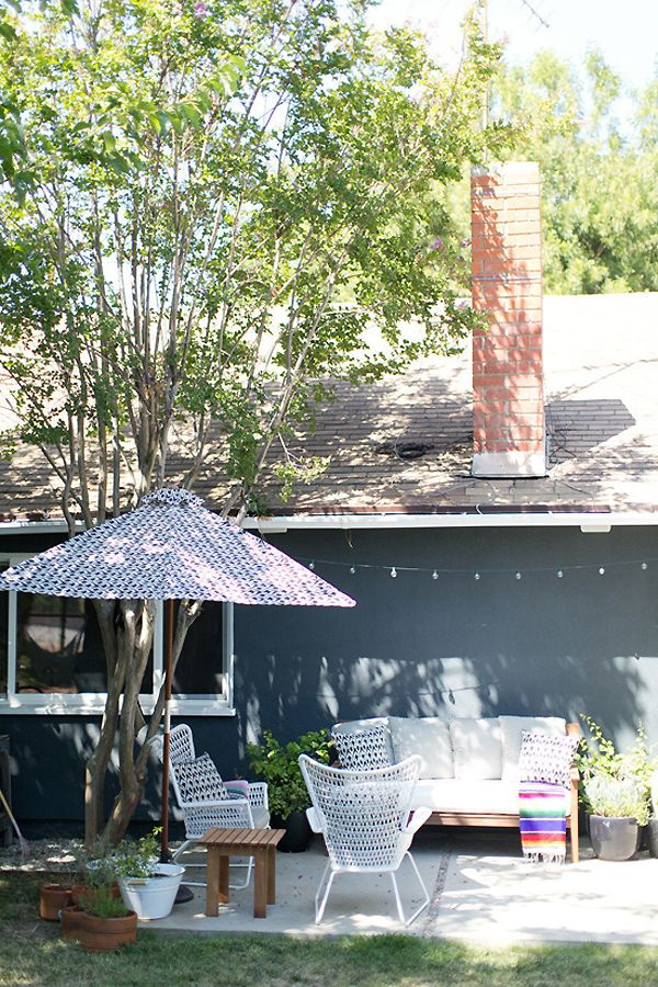 AMBER LEWIS' BEAUTIFUL LOS ANGELES HOME | THE STYLE FILES ... on Amber Outdoor Living id=91869
