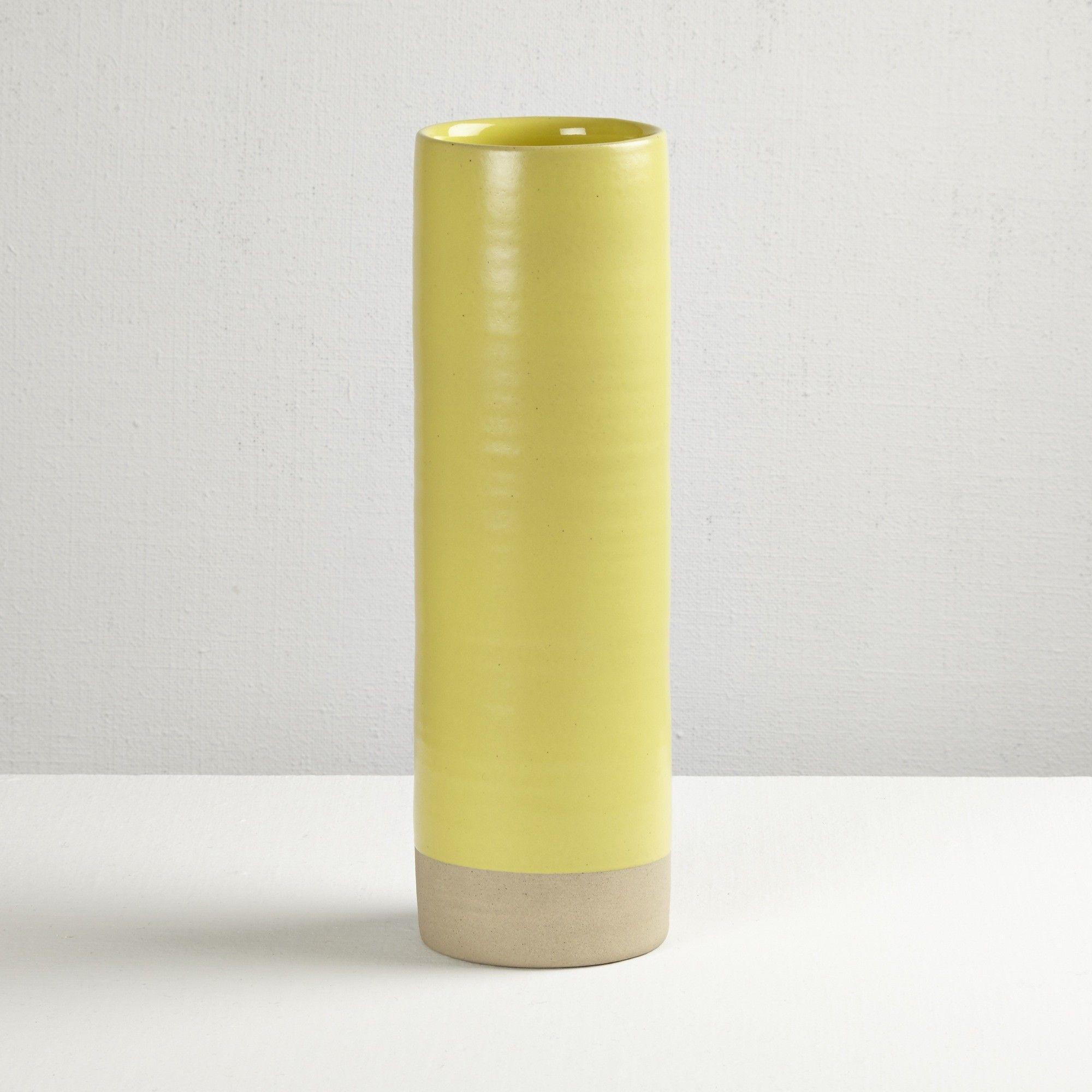 Darkroom Les Guimards Large Cylinder Vase Mimosa