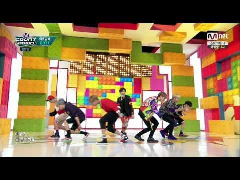 150716 M Countdown GOT7 - Intro + 딱 좋아(Just Right) by플로라