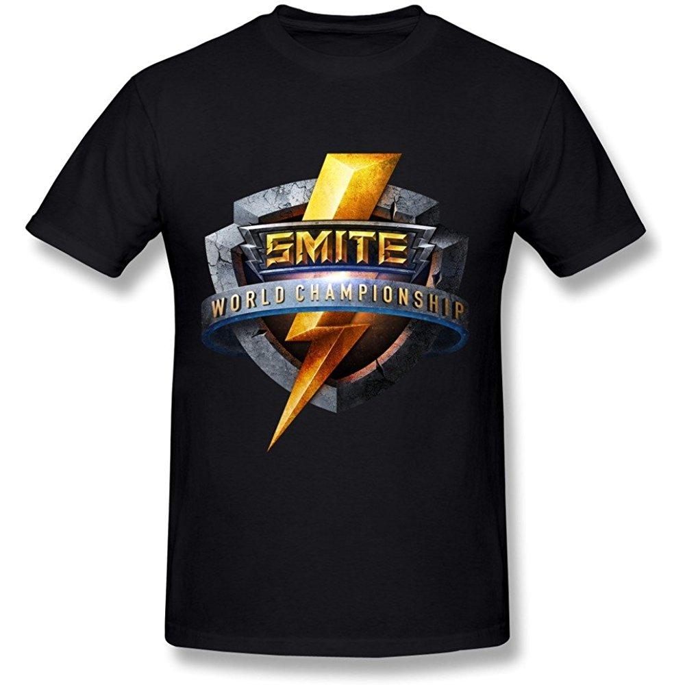 Sfmy Mens Smite World Championships Day One Logo T Shirts In 2020 Tshirt Logo Men Short Sleeve One Logo