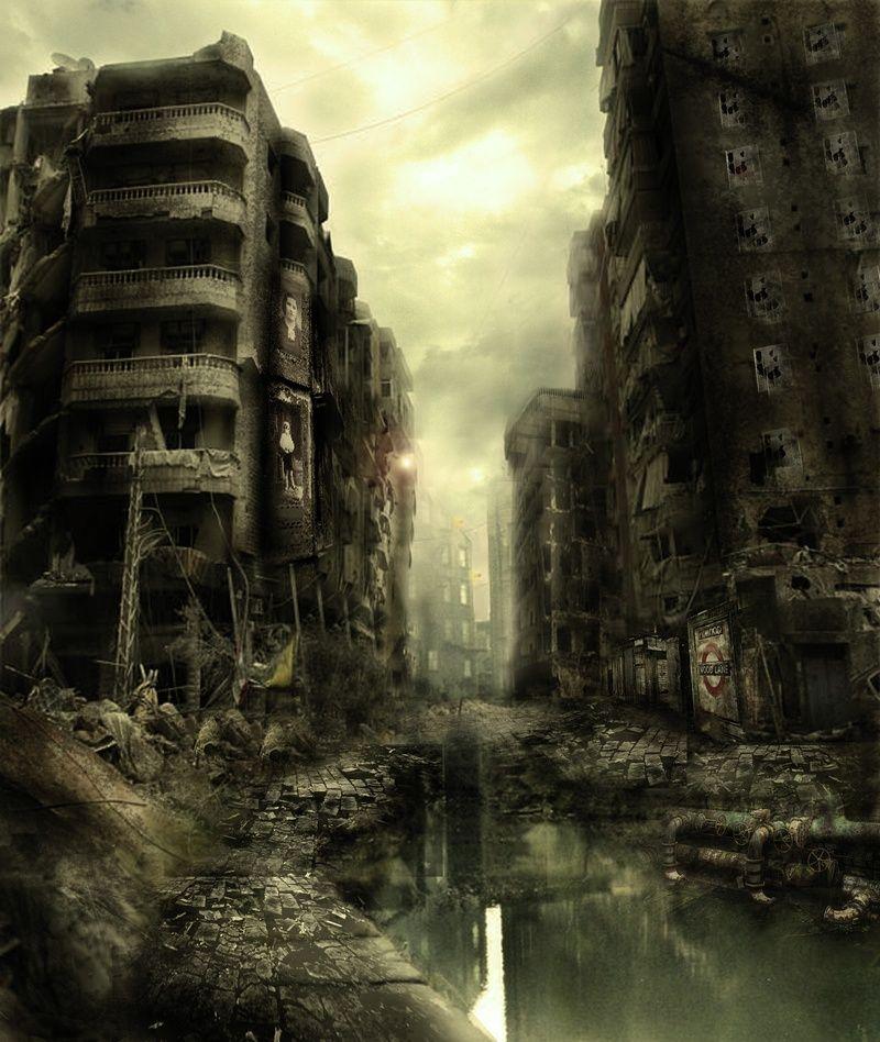Post Apocalyptic Art, Post Apocalyptic City