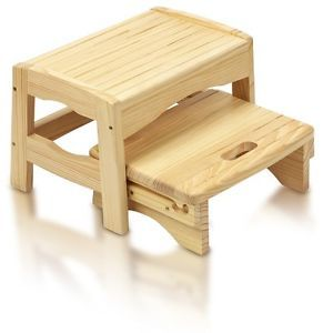 Bathroom Step Stools For Kids Safety 1st Wooden 2 Step Stool 2