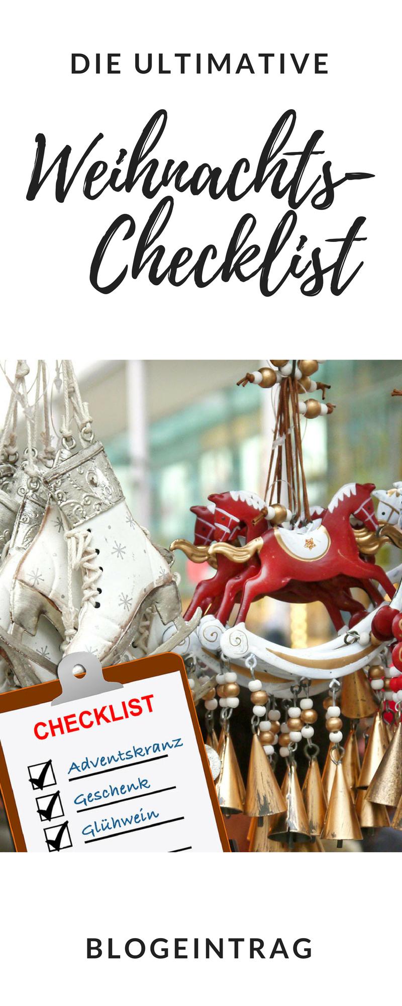Weihnachtsgeschenke - Check! Adventskanz - Check! Weihnachtsgebäck ...
