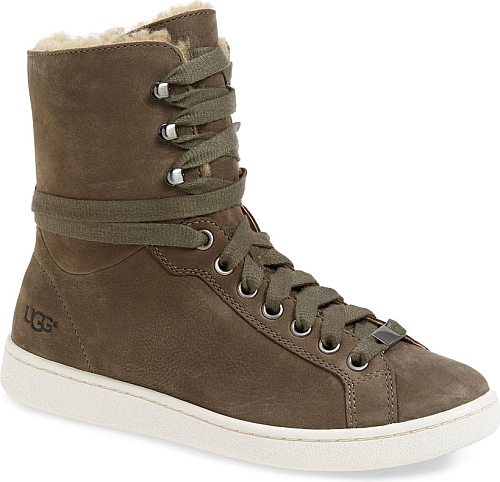 d20294465b0 Women's Ugg Starlyn Genuine Shearling Lined Boot in Mouse Nubuck ...