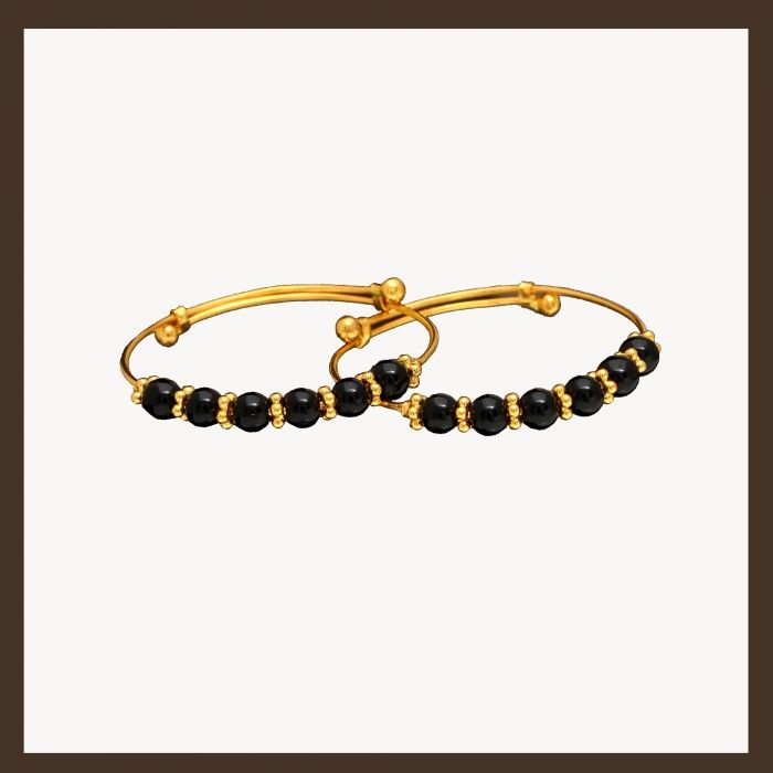gold baby bangles 107A