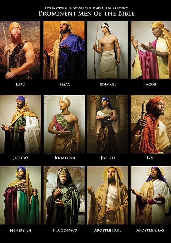 Prominent Men of the Bible Poster by Icons Of The