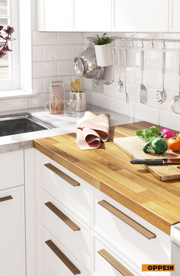 6 Square Meters L Shaped Nordic Style Small Kitchen Small