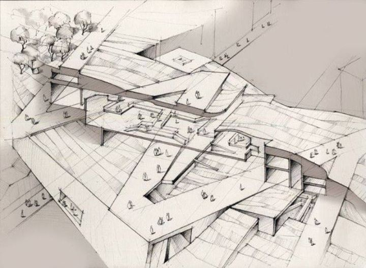 Pin By I Da On Arch Sketchbook Architecture Concept