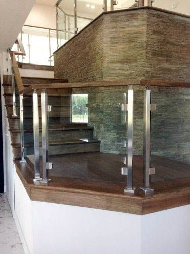 Best Crazy Q Glass Railing To Refresh Your Home Modern Stair 400 x 300
