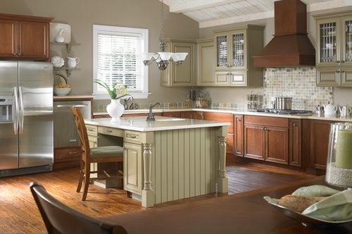 Country Style Kitchen With Mdf Furniture With Island Latest Furniture Trendslatest Furniture Trends