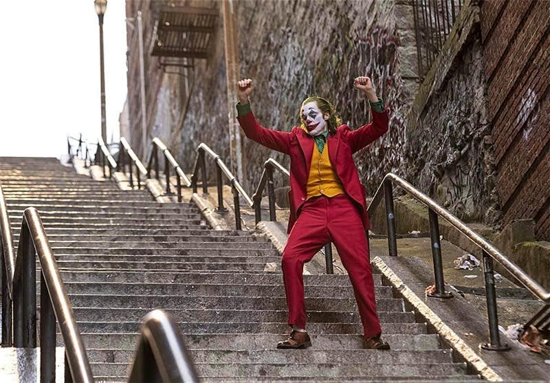 The steps in 'Joker' have Instagrammers heading to the