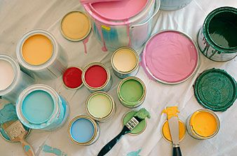 Paint Can Array | Paint stripes, Painting while pregnant ...