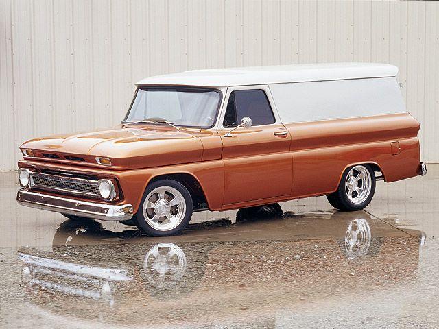 1965 Chevy Panel Truck Panel Truck Classic Cars Trucks Cars Trucks