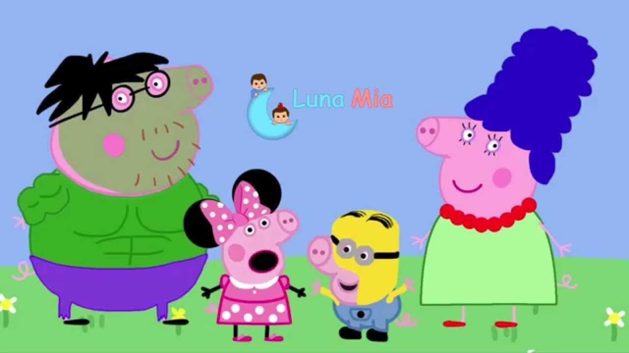 La Fiesta de Halloween en Casa de Peppa Pig Hulk Minnie Mouse ...
