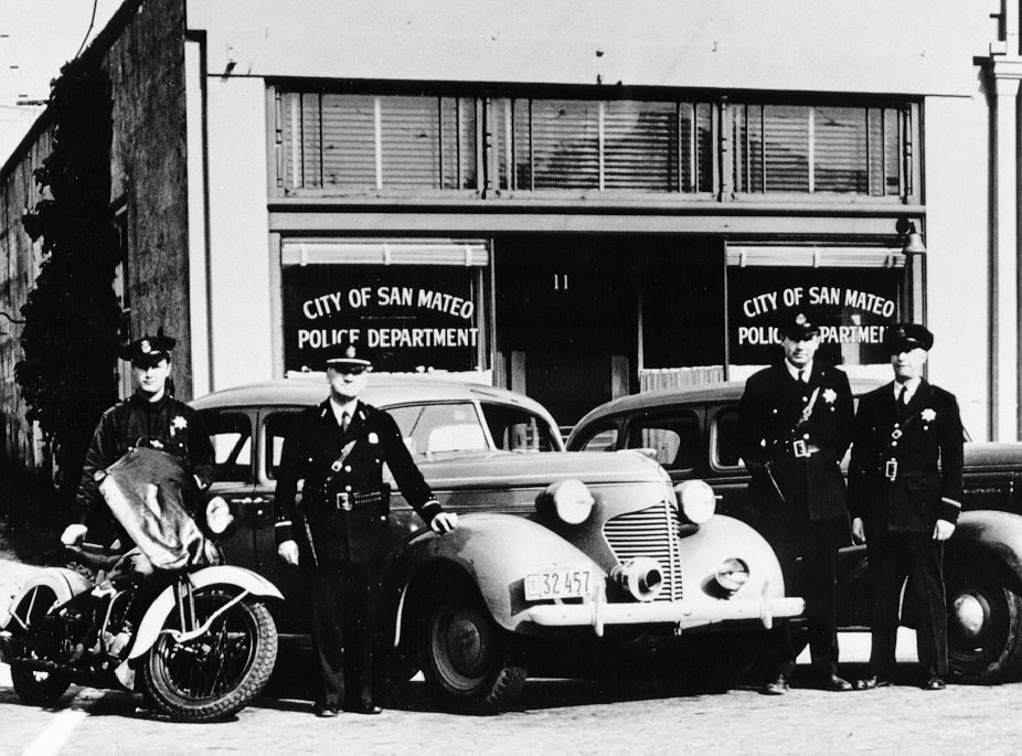 Downtown Police Station | SMPD History | Police, Antique