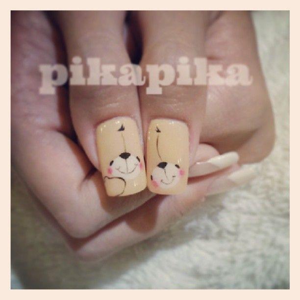 """forever friends #nail #nails #fashion #nailart #beautiful #cute #love #art #beauty #girl #style #naildesign #polish #instagood #gliter #nailpolish #ногти…"""