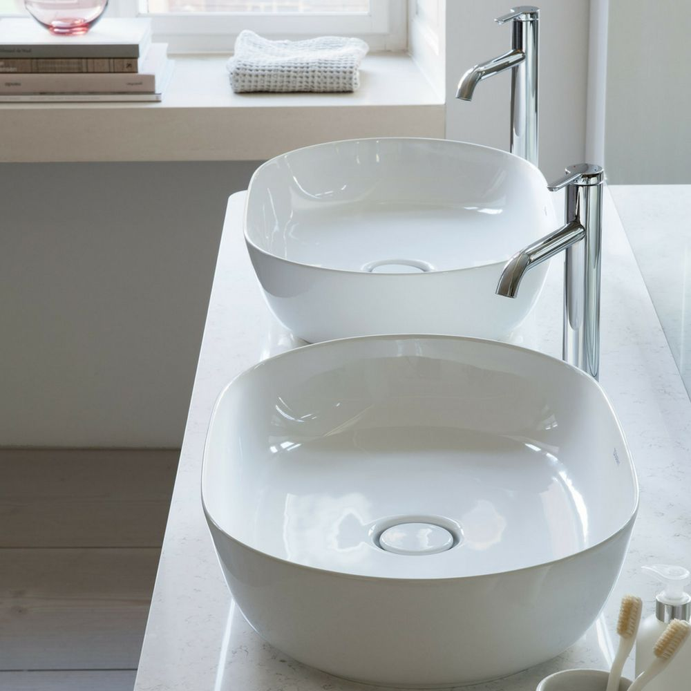Nadgradni Umivaonik 600x400mm Luv Beli Duravit 1 Duravit Bathroom Basin Bathroom Trends 2017