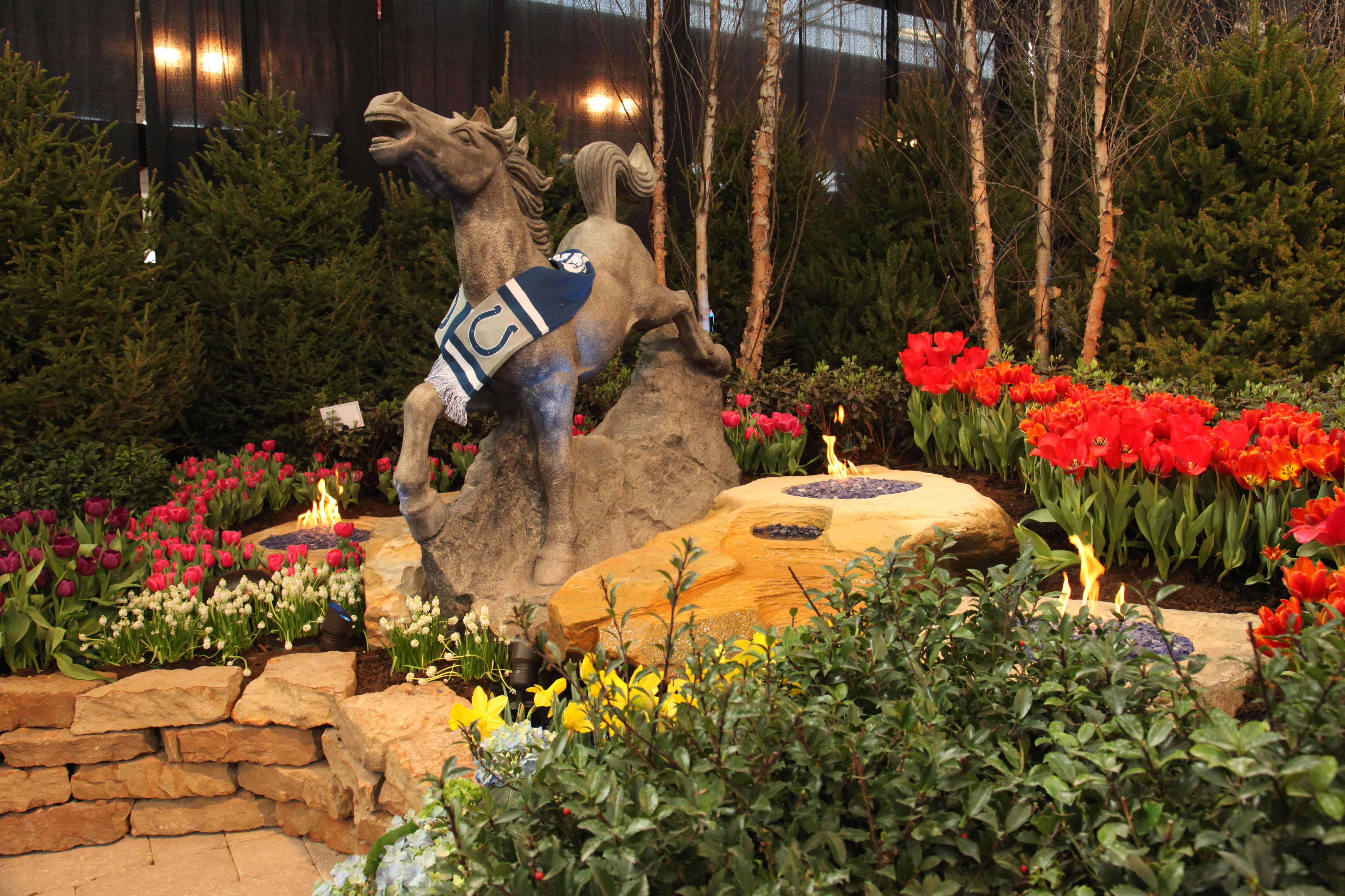 the 2014 indianapolis flower and patio show is one of the best shows