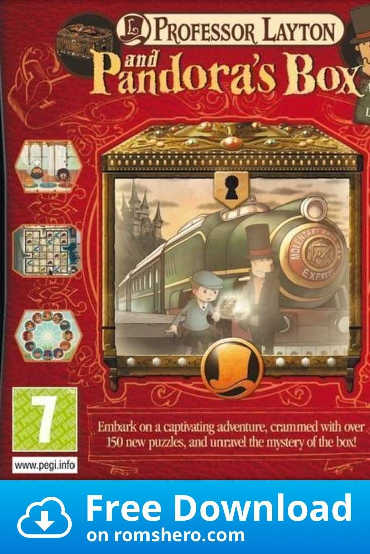 Download Professor Layton And Pandora's Box (EU) (BAHAMUT