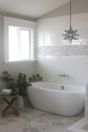 You Ll Make Your Bathroom Stylish With White Tile Models