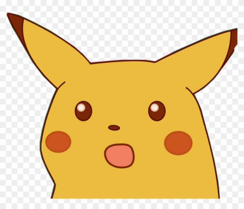 Find Hd Memes Para Stickers Png Png Download Surprised Pikachu Meme Png Transparent Png To Search And Download More En 2020 Pikachu Fotos De Perfil Manualidades