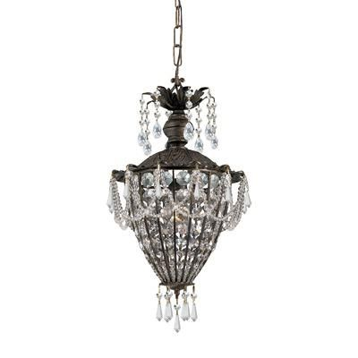 (CLICK IMAGE TWICE FOR UPDATED PRICING AND INFO) #home #ceiling #homeimprovement #homedecor #lighting  #lights #lightandfixture #chandeliers see more chandeliers at http://www.zbrands.com/Chandeliers-C35.aspx - Dainolite Chandeliers - Crystorama Chandeliers - Traditional Classic 1 Light Crystal Chandelier