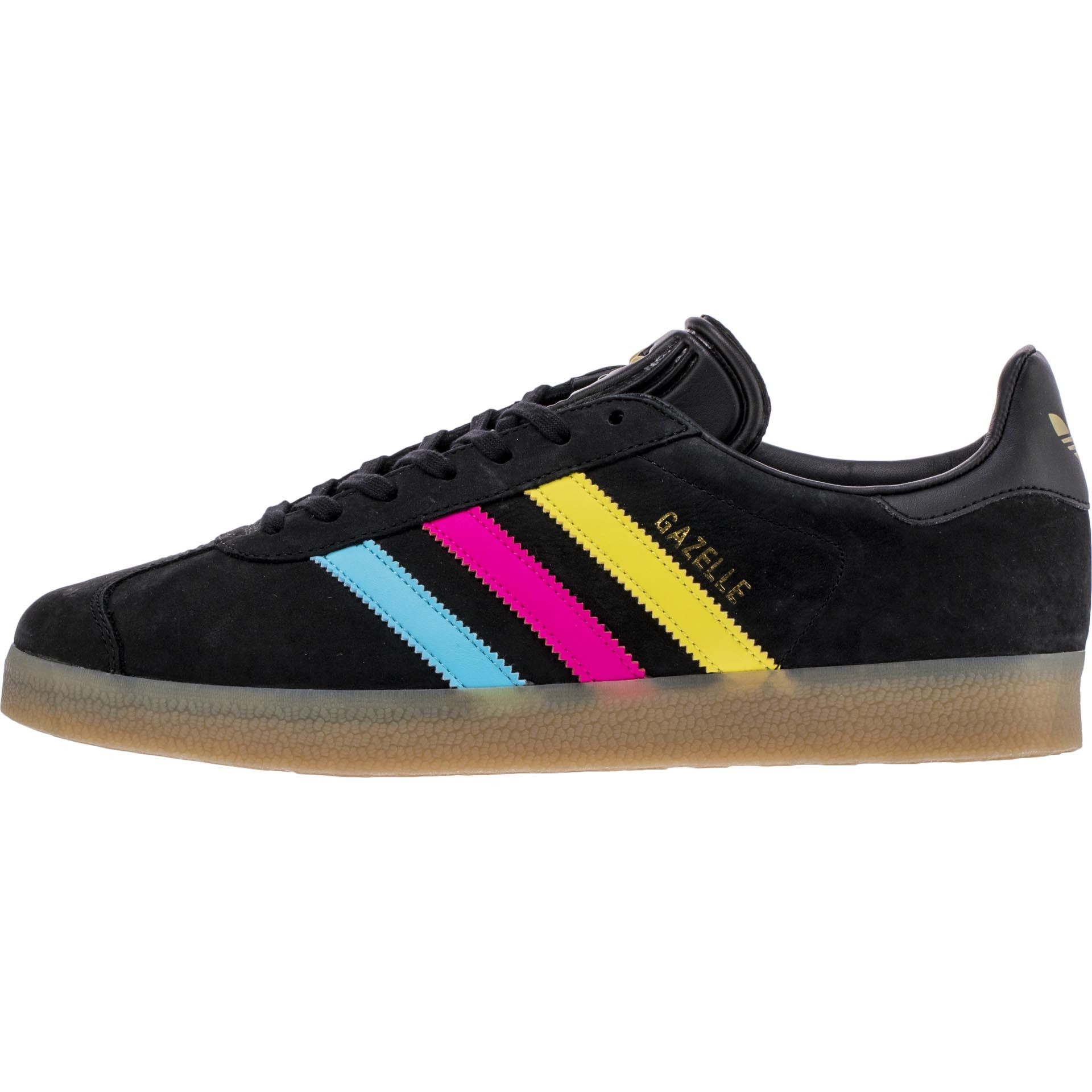 competitive price 58cfa c3593 90 ADIDAS GAZELLE MEN - BLACKPINKYELLOWBLUE