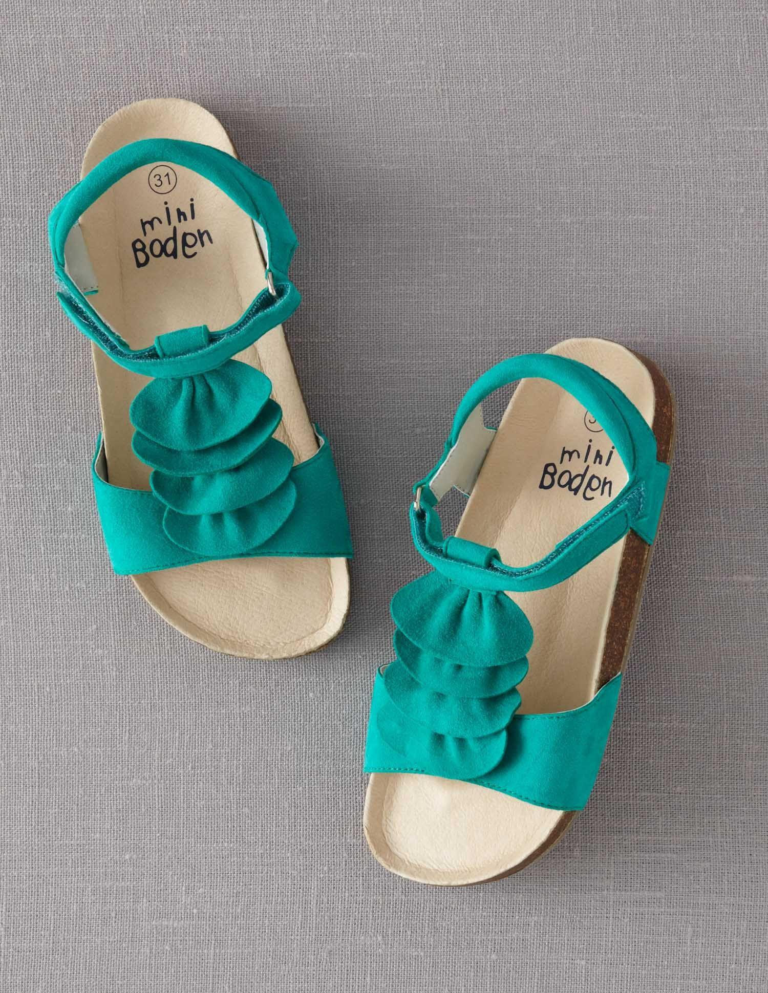 Suede Cork Sandals Mode Enfant Mode Pour Enfants Mode