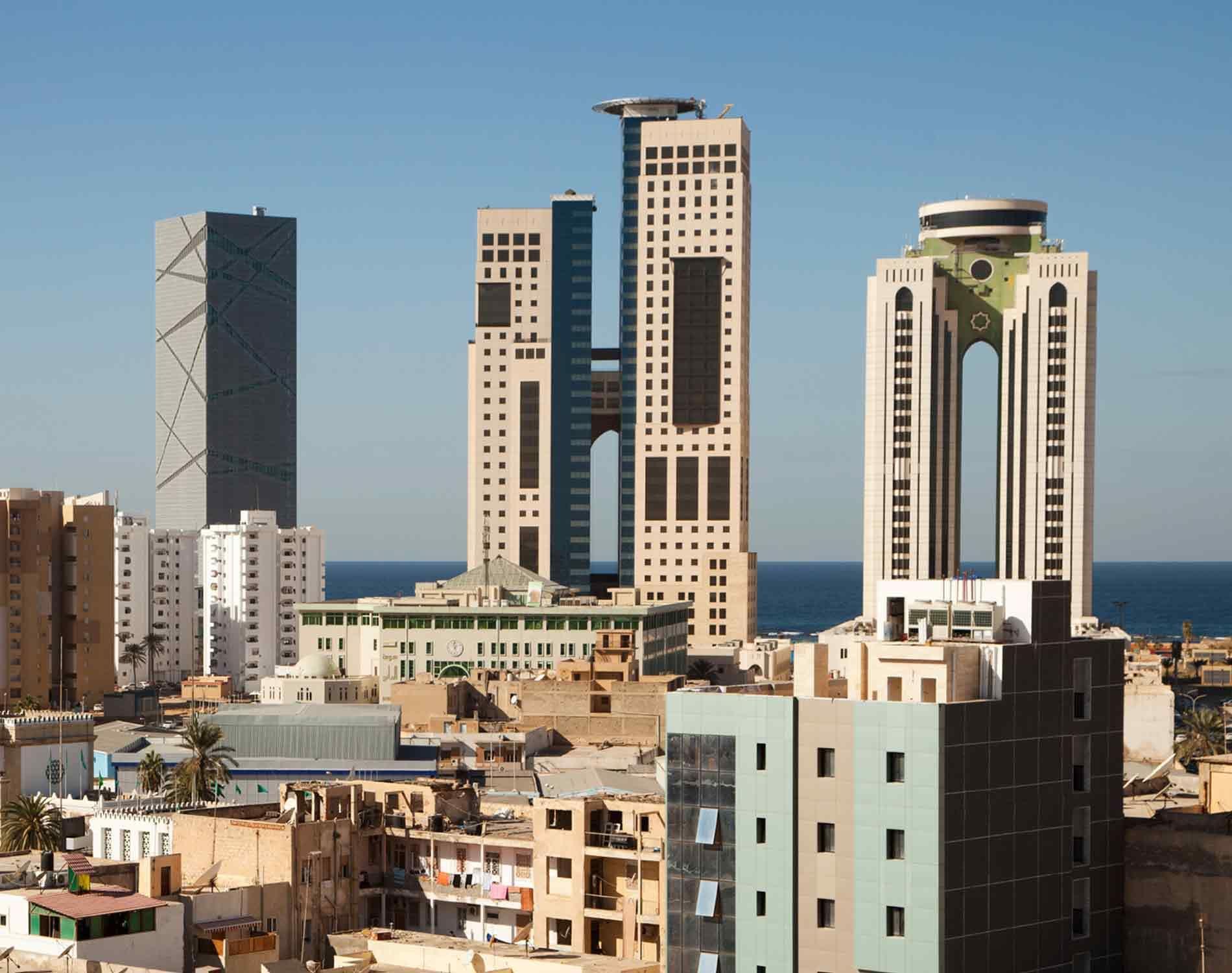 Tripoli Libya Skyline Israel