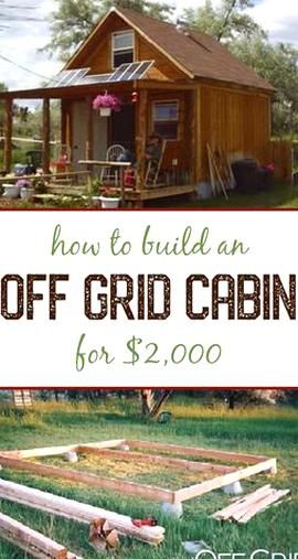 Photo of How to build an off grid solar-powered cabin for 2k  Tiny House Movement  Tiny L…