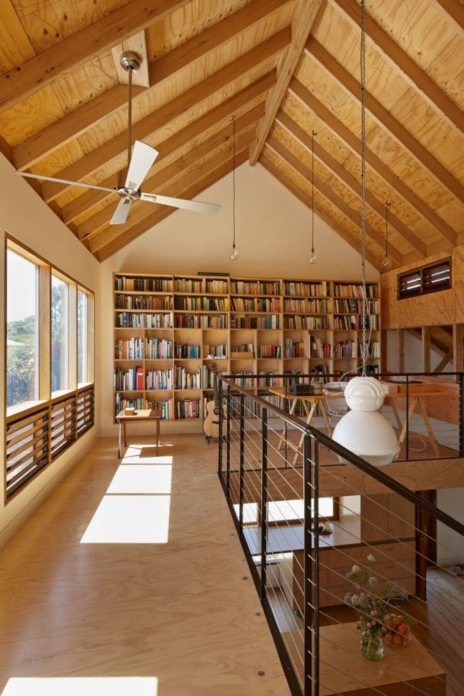 Rustic Library Den: Houses Awards Shortlist: The Best House Alterations Of