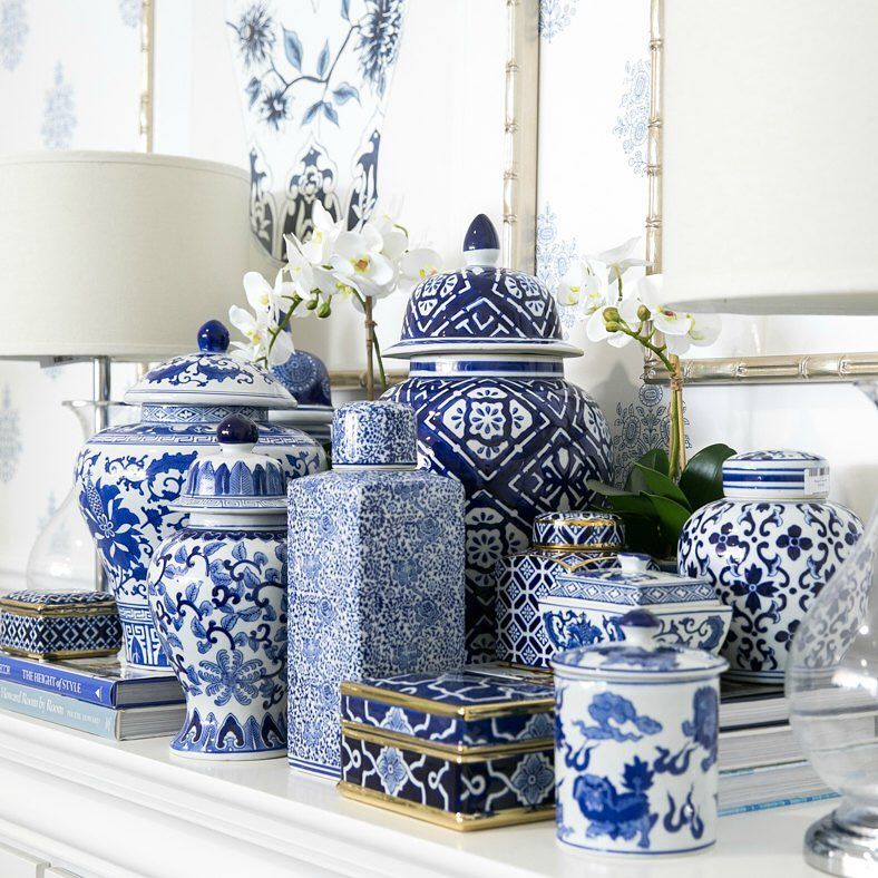 Hamptons Style Your Go To For Blue White Ceramics Blue White Decor White Decor Blue Decor