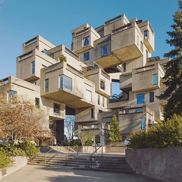 Interior Design Montreal Ca: Habitus Loves : Habitat 67 Montreal, Canada, By Moshe