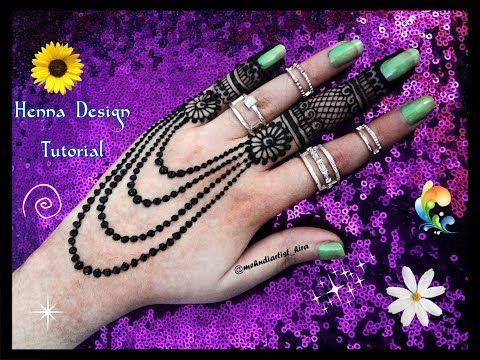 Beautiful Henna Mehndi Jewellery : Diy henna designs how to apply easy simple new jewellery mehndi