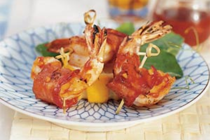 Barbecued Bacon Shrimp http://www.yummly.com/recipe/Barbecued-Bacon-Shrimp-My-Recipes