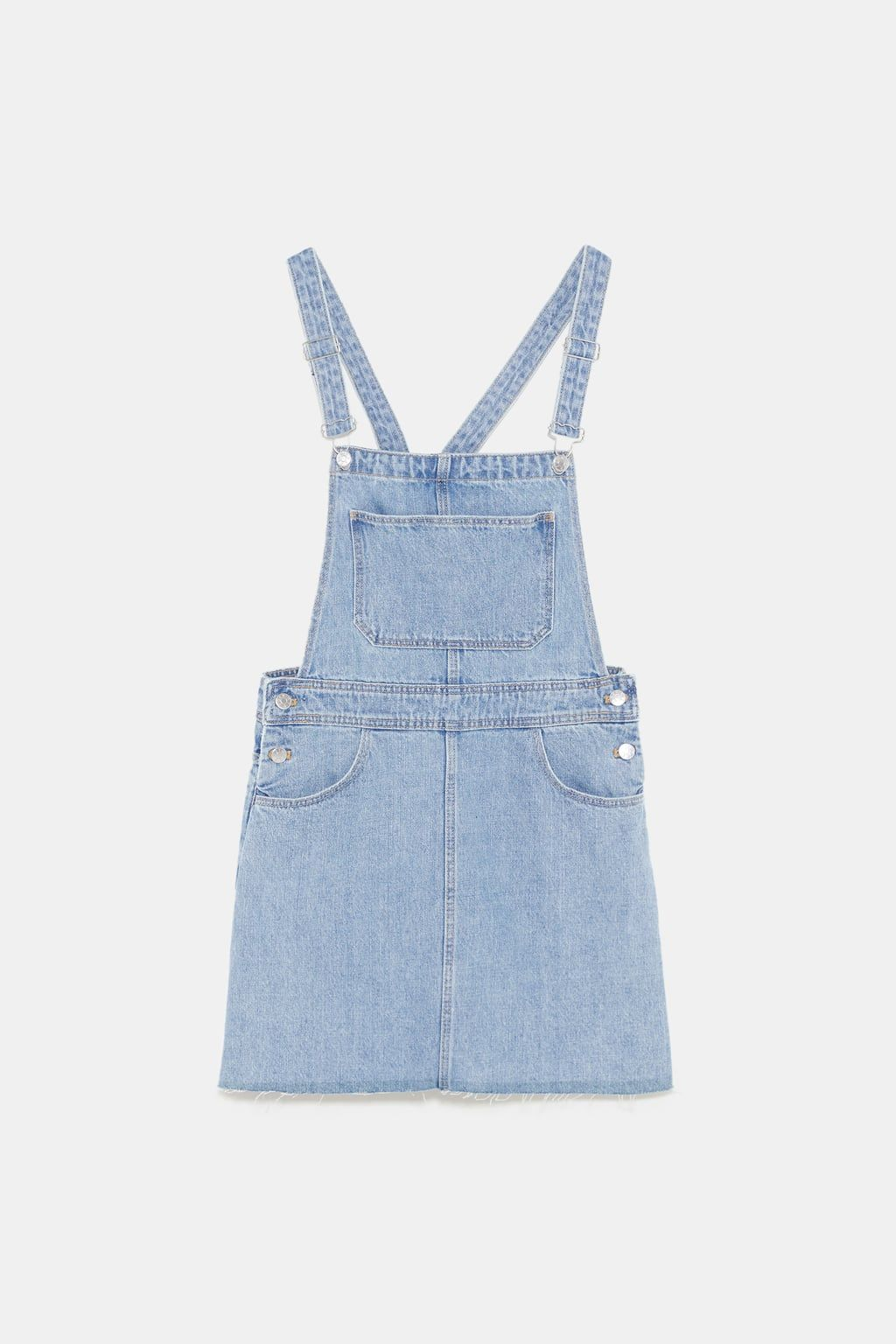 f792fb7a0c Image 8 of AUTHENTIC DENIM PINAFORE DRESS from Zara | Jumpsuit ...