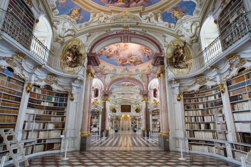 Cool Places to #Travel - Admont Abbey is a Benedictine monastery...  Instagram travelquote