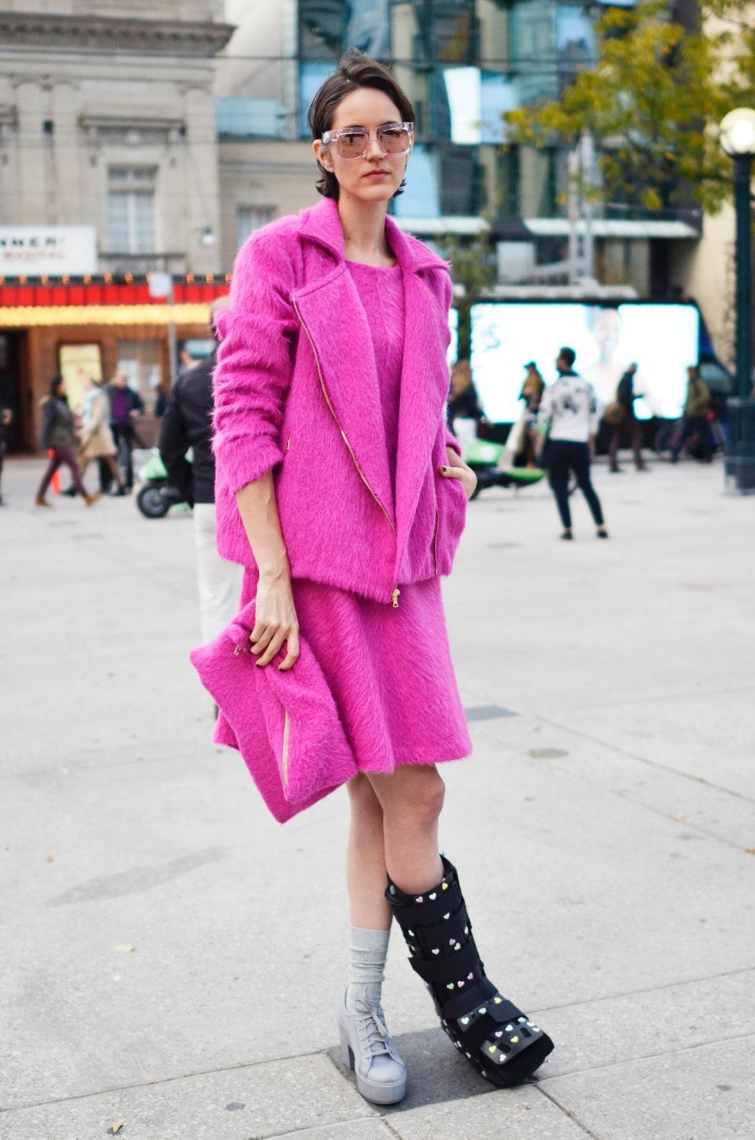 Toronto Fashion Week Street Style Spring 2016 Elle