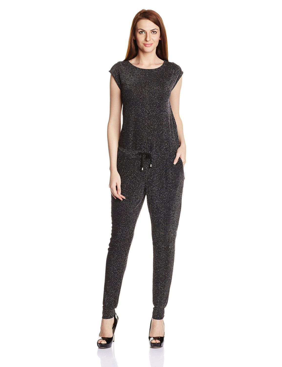 523c43292bc8 Vero Moda Women's Jumpsuit: Amazon.in: Clothing & Accessories ...