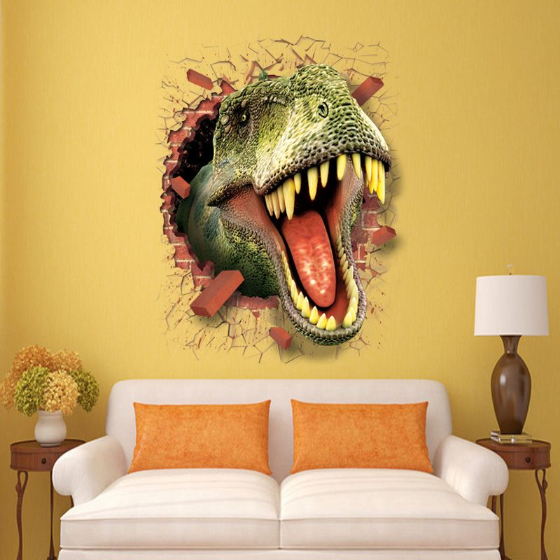 removable 3d wall decal stickers quotes of animals   3D wall sticker ...
