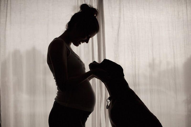 Картинка беременной женщины на аву