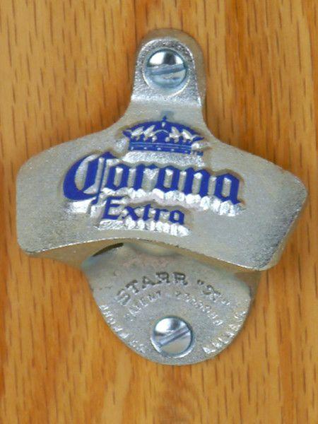 Corona Wall Mount Bottle Opener Cerveza
