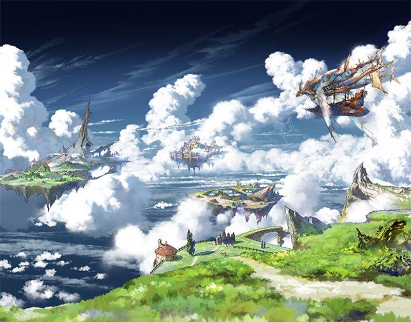 グランブルーファンタジー | Art | 株式會社CyDesignation【2020】 | ファンタジーな風景, グランブルー ...