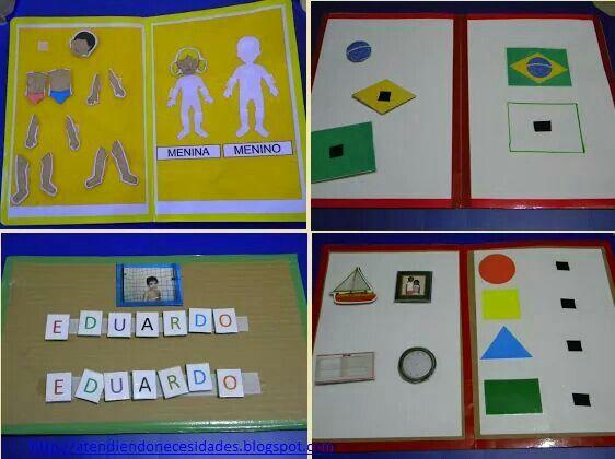 Jogos diversos para associação de conceitos