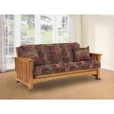 pretty nice 54101 102a2 Found it at Wayfair - LifeStyle Solutions Rainer Wood Futon ...