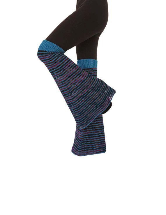 One Size - Heartbreaker - Wool Crochet Boot Leg Warmers / Bell ...