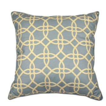 Kohls Decorative Pillows Fascinating Canton Trellis Decorative Pillow Justthis1Girl Clearance Kohls Decorating Design