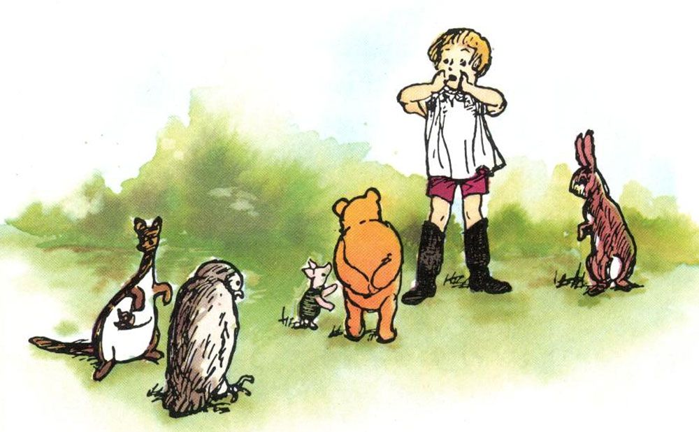 Opb27 Jpg 1 000 618 Pixels Winnie The Pooh Pooh Winnie The