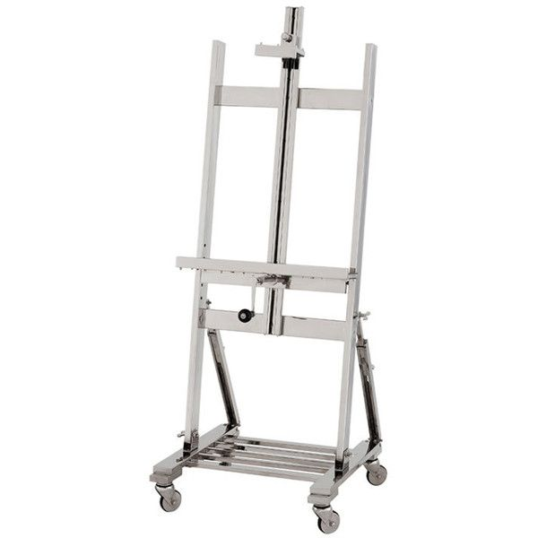 Eichholtz TV Easel (82,780 MXN) ❤ liked on Polyvore featuring home, furniture, storage & shelves, entertainment units, display furniture and display easel