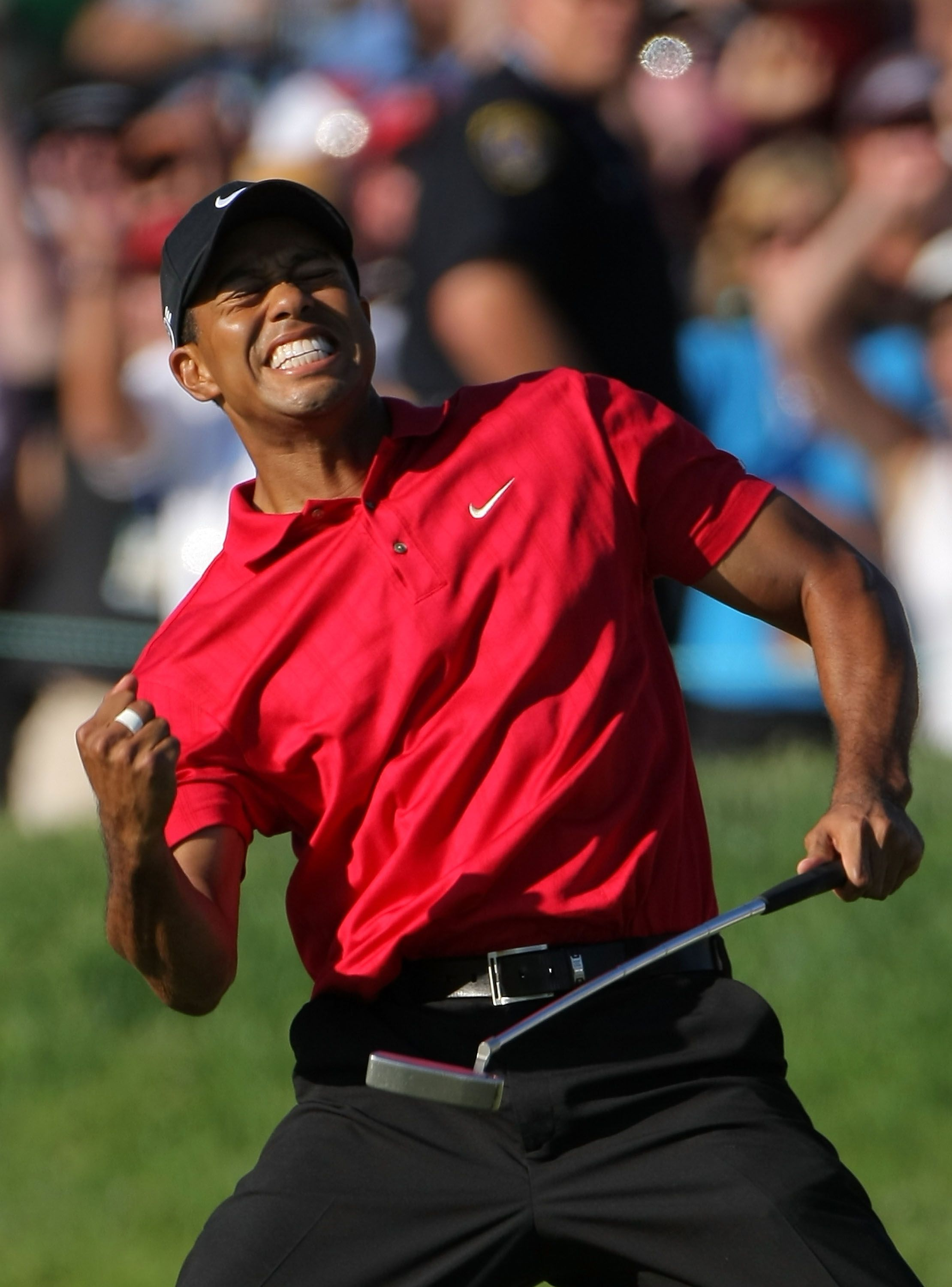 Tiger Woods I like more of the old Tiger than the new